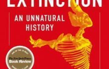 One of Best ecology books : The Sixth Extinction : An Unnatural History _ By (author)  Elizabeth Kolbert.