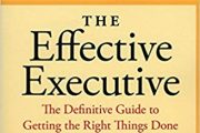 . A good management Book to read  : Best for Getting Things Done: The Effective Executive  :