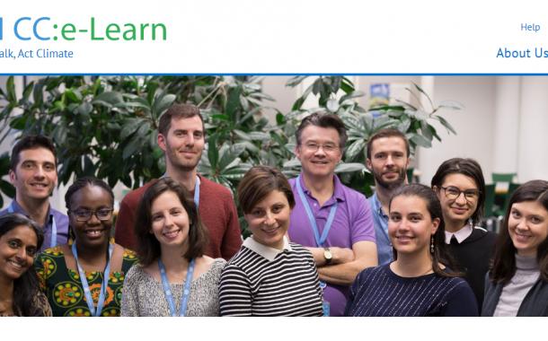The UN Climate Change E-Learning platform (UN CC:e-Learn)