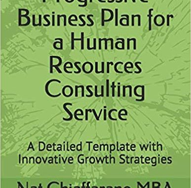 Progressive Business Plan for a Human Resources Consulting Service: A Detailed Template with Innovative Growth Strategies by Nat Chiaffarano MBA (Author)